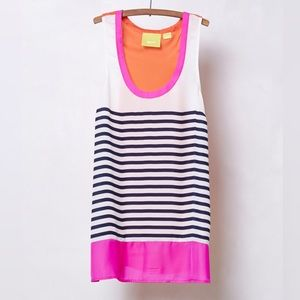 Anthropologie Maeve Striped Colorful Tank